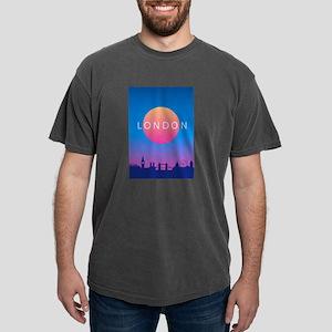 London Skyline Sunset Travel Poster T-Shirt