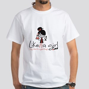 Science Like A Girl! Women's T-Shirt
