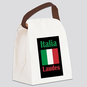 Laudes Italy Canvas Lunch Bag