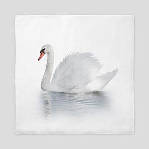 White Swan Queen Duvet