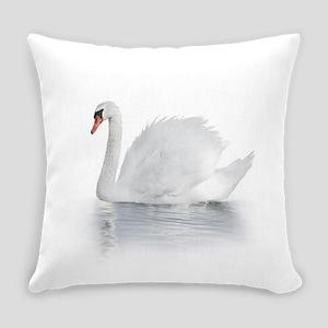 White Swan Everyday Pillow