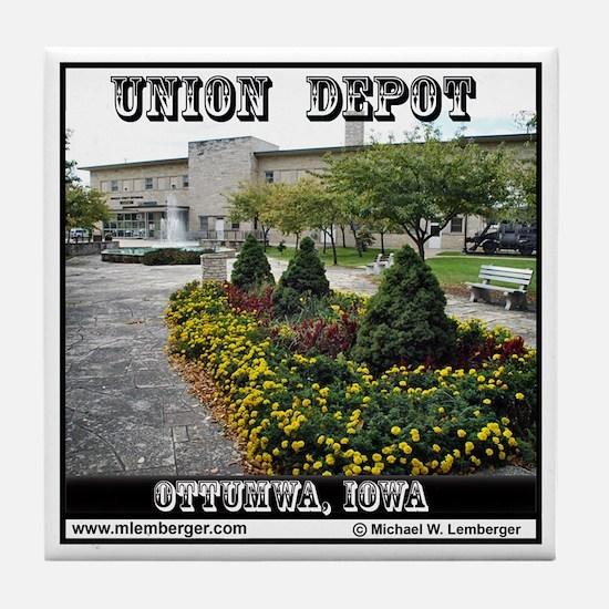 Union Depot Tile Coaster
