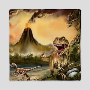 Predator Dinosaurs Queen Duvet