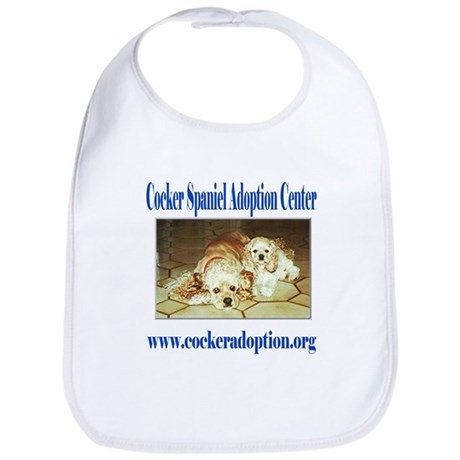 Cocker Spaniel Adoption Center Bib