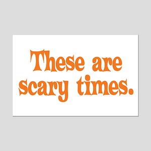 Scary Times Halloween Mini Poster Print