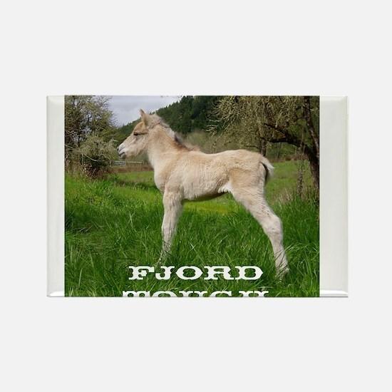 Fjord Horse Tough Rectangle Magnet