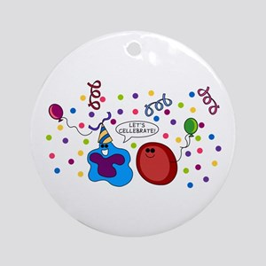 Let's Cellebrate Ornament (Round)