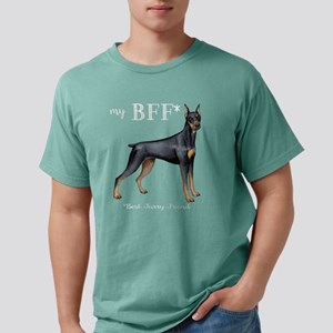 Doberman BFF Women's Dark T-Shirt