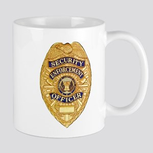 Security Enforcement Mug