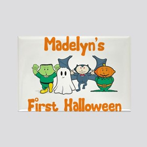 Madelyn's First Halloween Rectangle Magnet