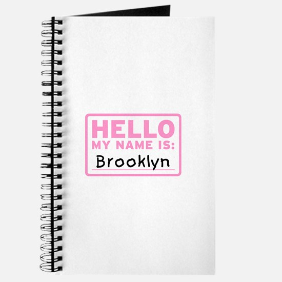 Hello My Name Is: Brooklyn - Journal