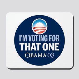Voting for that ONE Mousepad