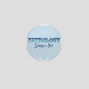 Astrology Science and Art Mini Button