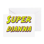 Super dianna Greeting Card