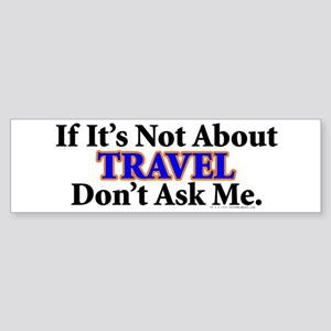 Travel Bumper Sticker