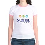 Eat-Sleep-Shell - Jr. Ringer T-Shirt