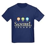 Eat-Sleep-Shell - Kids Dark T-Shirt