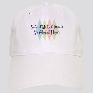 Volleyball Players Friends Cap