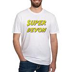 Super devon Fitted T-Shirt