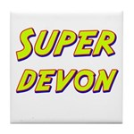 Super devon Tile Coaster