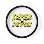 Super devon Wall Clock