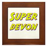 Super devon Framed Tile