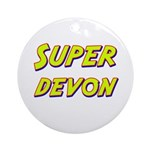 Super devon Ornament (Round)