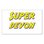Super devon Rectangle Sticker
