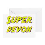 Super devon Greeting Card