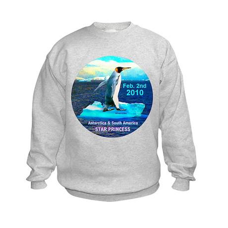Star Antarctica S. America 2010- Kids Sweatshirt
