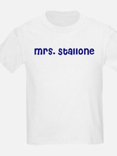 Mrs. Stallone T-Shirt