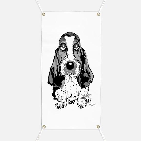 Unique Basset hounds Banner