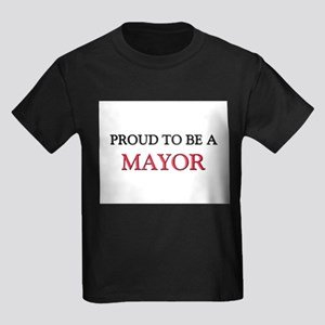Proud to be a Mayor Kids Dark T-Shirt