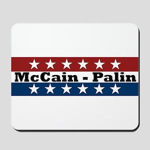 RWB w/Stars McCain/Palin Mousepad