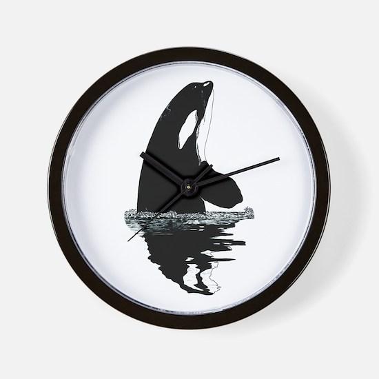 Orca Killer Whale Wall Clock