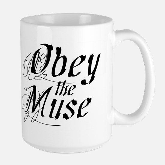 Obey the Muse Large Mug