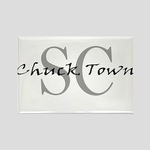 Chucktown Rectangle Magnet