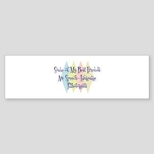 Speech-Language Pathologists Friends Sticker (Bump