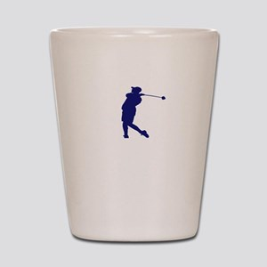 Golf I Do My Own Stunts Golfer Gift Shot Glass