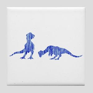Pachycephalosaur Tile Coaster
