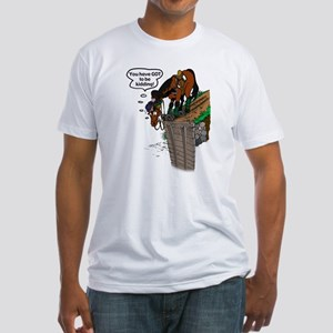 Event Horse at Drop Fitted T-Shirt