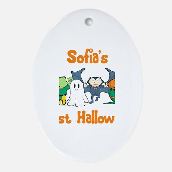 Sofia's First Halloween Oval Ornament