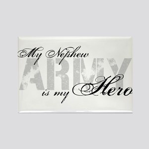 Nephew is my Hero ARMY Rectangle Magnet