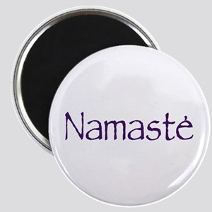 Namaste in Sacred Purple Magnet