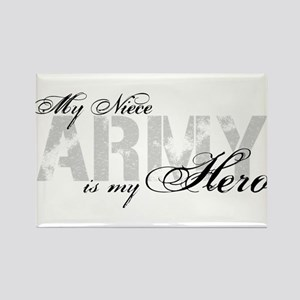 Niece is my Hero ARMY Rectangle Magnet