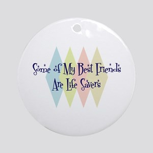 Life Savers Friends Ornament (Round)