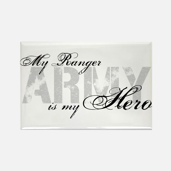 Ranger is my Hero ARMY Rectangle Magnet