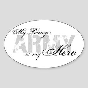 Ranger is my Hero ARMY Oval Sticker