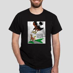 Harris Hawk and Bunny Dark T-Shirt