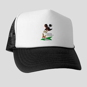 Harris Hawk and Bunny Trucker Hat